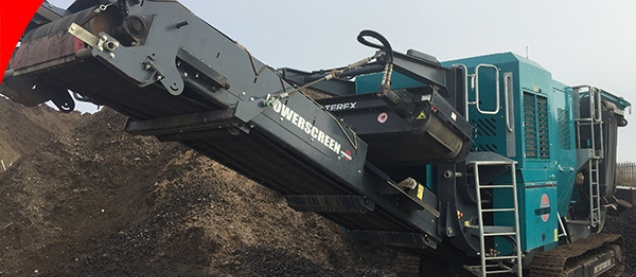 Powerscreen Metrotrak HA