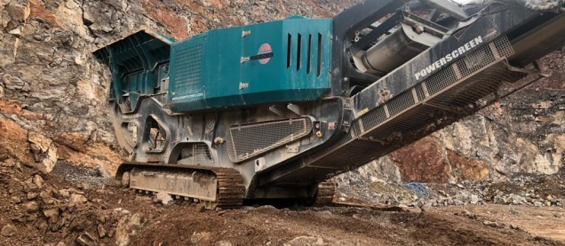 Powerscreen Premiertrak 400 (U0280)